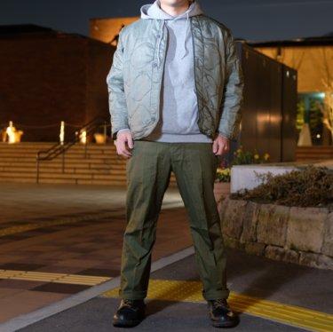 【デッドストック品】今人気のアメリカ軍実物のライナージャケットとは?着こなし方も紹介!
