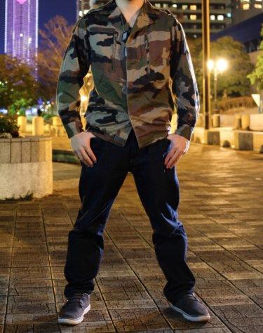 【フランス軍放出品】F2ジャケット着こなしとコーデ!男女大人気の必須アイテム
