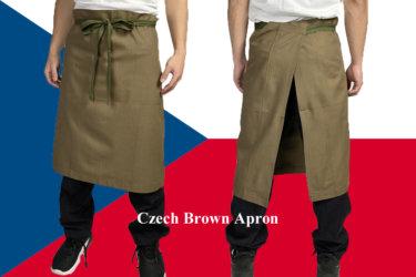 【使い勝手最高】軍モノだからできる丈夫なチェコ軍エプロン!様々なシーンでかつやすること間違いなし!